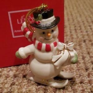 Lenox Snowman ornament